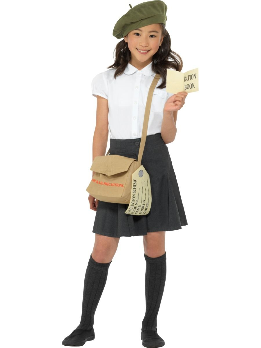 Boys and Girls Fancy Dress | World War II Evacuee Instant ...